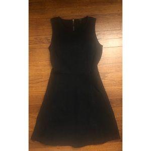 J.Crew Black Knit Princess Sean Dress